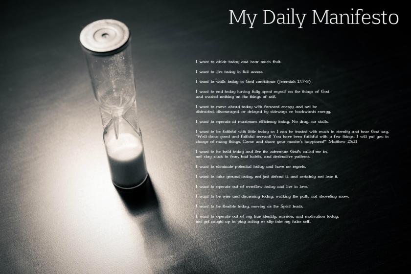 My Daily Manifesto