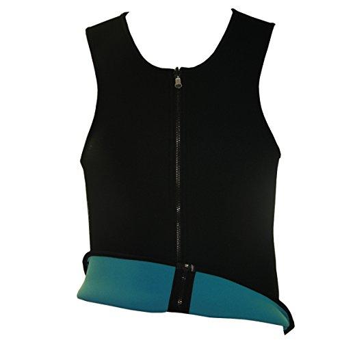 NonEcho-Mens-Slimming-Sweat-Vest-Hot-Neoprene-Sauna-Body-Shapers-Large-Black-0-2